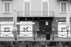 Milano (Valt3r Rav3ra - DEVOted!) Tags: sonyalpha7 sony bw biancoenero blackandwhite milano naviglio valt3r valterravera visioniurbane urbanvisions digitale streetphotography street