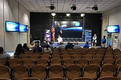 Antares NG-11 Press Conference Rehearsal (13winds) Tags: antares wallops wff nasa ng11 media visitor center press conference