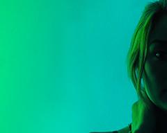 Emerald Outlines (@illashootxr) Tags: woman girl beautiful blue green emerald outline highlights studio hasselbladfigure tone coolfresh gels rosco hasselblad blues cools greens 420 happy blaze weed canada style lighting badass