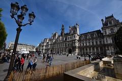 Hôtel de Ville de Paris (Chaufglass) Tags: paris france europa hôteldeville