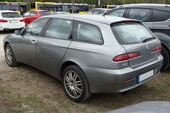2003 Alfa Romeo 156 Kombi Heck (Joachim_Hofmann) Tags: auto fahrzeug verbrennungsmotor ottomotor alfa alfaromeo kombi 156 kraftfahrzeug kfz