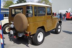 1976 Toyota Landcruiser FJ40 Heck (Joachim_Hofmann) Tags: auto fahrzeug verbrennungsmotor ottomotor toyota geländewagen 4x4 geländefahrzeug japanischesauto