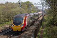 Virgin Trains 390138 (Mike McNiven) Tags: virgin virgintrains trains bolton lancaster birmingham diverted alstom emu electric multipleunit kearsley manchester international cityoflondon westcoast mainline