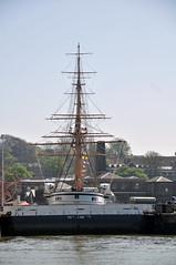 DSC_9724 (Thomas Cogley) Tags: river medway kent thomas cogley thomascogley hms gannet ship boat chatham dockyard