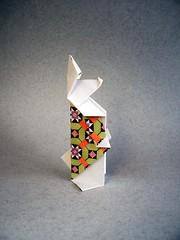 Happi Bunni - Sok Song (Rui.Roda) Tags: origami papiroflexia papierfalten conejo coelho lapin bunny rabbit happi bunni sok song