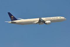 SV0106 LHR-RUH (A380spotter) Tags: takeoff departure climb climbout boeing 777 300er hzak36 يرحمكالله godblessyou iata السعودية saudia sva sv sv0106 lhrruh runway09r 09r london heathrow egll lhr