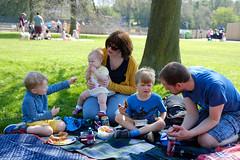 Lunchtime (timnutt) Tags: parkland xt2 northampton northamptonshire wicksteedpark children child people fuji 35f2wr park toddler 35mm fujifilm kettering