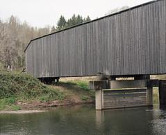 Covered bridge 2 (Kent C.) Tags: mamiyarb67pros kodakportra400 film filmphotography mediumformat mediumformatfilm 6x7 120film