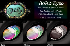 Folly_FantasyEyes_BohoAd (Cane's Folly SL) Tags: cane sutter second life chibi noodle avatars eye mods textures