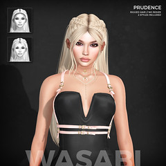 New Prudence hair @ Fantasy Fair 2019! (Wasabi // Hair Store) Tags: 3d mesh hair wasabipills asteroidbox ransommatter izzies pinkfuel maibilavio maitreya catwa glamaffair kibitz