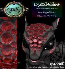 Folly_NoodleCrystalHelmAd_Garnet (Cane's Folly SL) Tags: cane sutter second life chibi noodle avatars