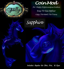 Folly_HippocampusMod_CoinAdSapphire (Cane's Folly SL) Tags: cane sutter second life happy hippocampus avatars texture mods betta