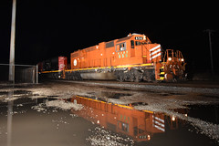 Reflections (Robby Gragg) Tags: eje sd382 656 joliet