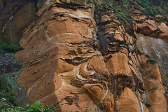 Nature's Artwork on Rock (Journey CPL) Tags: rock formation pattern shape artwork art taiwan geological feature