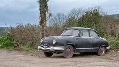 Panhard Dyna Z (ostplp) Tags: vintage exploration abandonnée panhard voiture decay