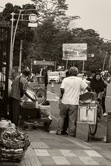 Streets of Bogor (Triple_B_Photography) Tags: indonesia java canon eos 7d 2018 bogor nationalpark street sepia travel tourism tourist
