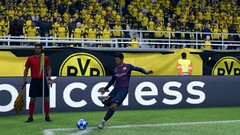 FC Barcelone - Borussia Dortmund (Skyvlader) Tags: barcelone borussia dortmund champions league arena fifa 09 19 game capture screenshoots gaming nike addidas goal messi