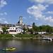 La Mayenne à Cantenay-Épinard, France