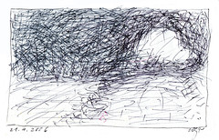 Wolfram Zimmer: Hatching - Schraffuren (ein_quadratmeter) Tags: wolfram zimmer meinzimmer wolframzimmer kunst malerei gemälde painting freiburg burg birkenhof kirchzarten ausstellung ausstellungen aktionskunst improvisation idee gegenständliche ungegenständliche art paintings exhibition exhibitions action idea objectively nonobjective representational nonrepresentational abstraktion situation image aleatoric coincidence aleatorik zufall experimentelle experimental schraffur hatching