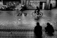 S0123023A Urban space (soyokazeojisan) Tags: japan osaka city street people bw blackandwhite monochrome digital fujifilm xq2 2019