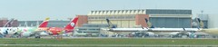 The Airbus flight line 17th April 2019 (kitmasterbloke) Tags: tls toulouse aircraft aviation airliner transport outdoor france