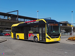 Volvo 7900 - TEC 7910 (Pi Eye) Tags: volvo 7900 électrique elctric hybride hybrid charleroi tec srwt otw