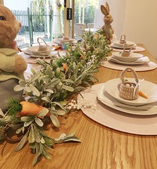 Easter Sunday breakfast table - 2019 (Aussie~mobs) Tags: easter breakfast table