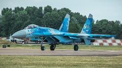 Su-27P1M (kamil_olszowy) Tags: su27p1m riat 2018 faiford flanker fighter sukhoi ukraine air force siły powietrzne ukrainy су27п1м 831s tactical brigade aviation військовоповітряні сили україни ввс украини сухой