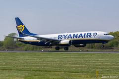 Ryanair EI-FTT B737-800 at Manchester Airport 19-04-19 (JH Aviation and Railway Photography) Tags: manchester manchesterairport airliner airport aircraft aviation airways airlines aviationviewingpark avp southside egcc jetliner jet jets