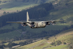 IMG_0469 copy© (Jon Hylands) Tags: wales lowlevel low lfa7 level aviation aerospace aircraft hercules c130 raf royalairforce zh871 military panning