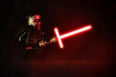 LEGO Kylo Ren (weeLEGOman) Tags: lego kylo ren solo star wars minifigure minifigures toy macro photography uk nikon d7100 105mm lightsaber red rob robert trevissmith weelegoman