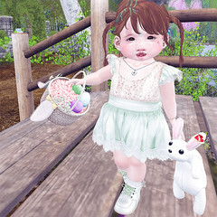Larnia Easter (daisypea) Tags: flickr spam art daisy crowley secondlife second life sl roleplay toddler child kid children tot td bebe bad seed toddleedoo colour color draw paint crayon photo photography picture rp cute sweet adorable baby little girl daughter sister family look day lotd landscape school create creativity creative sweetpea portrait snap snapshot quick dress up dressup person people play playful adore 2006 flower illustration daydream dream twin larnia easter hunt