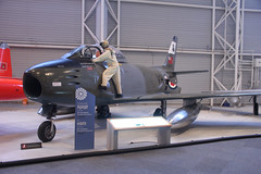 Sabreman (ƒliçkrwåy) Tags: 23455 canadair sabre cl13 rcaf canadian airforce rockcliffe casm aircraft aviation military
