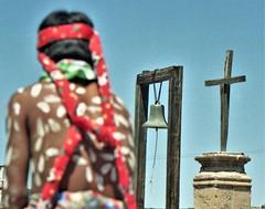 Tarahumara boy with cross (Caravanserai (The Hub)) Tags: tarahumara raramuri mexicochihuahua easter semanasanta