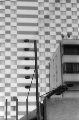 - (dirojas) Tags: leica m3 90mm summicron hp5 diafine santiago chile urban abstract electric fence pattern