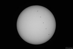 2019-04-21 Solar ISS Transit (testdummy76) Tags: iss intenational space station solar transit sun sonne astro astronomie astronomy astrofotografie astrogeek astrophotography