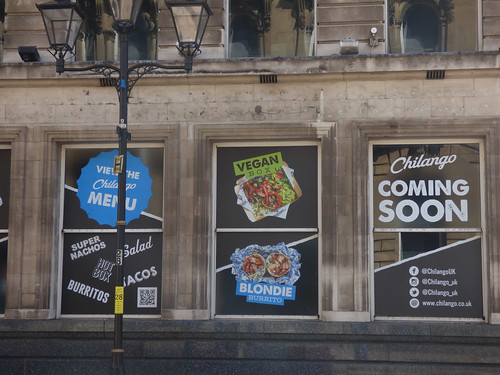 Chilango coming soon to 92-98 Colmore Row
