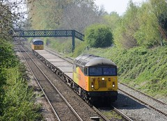 56-096-tnt-56-049-6C20-Sutton-Bridge-Junction-21-4-2109 (D1021) Tags: class56 56096 56049 6c20 semaphores semaphoresignals signal departmental ballast engineers suttonbridge suttonbridgejunction shrewsbury d700 nikond700 colas