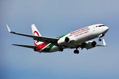 (ORY) RAM Boeing 737-800 CN-ROS Landing runway 06 (dadie92) Tags: orly ram lfpo boeing b737 b737800 landing cnros spotting aircraft airplane maroc nikon d7100 sigma tamron newlivery danieldanel