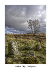 Curbar Edge (January 2019 #1) (Lazlo Woodbine) Tags: curbaredge curbar stonecircle stone hdr countryside britishcountryside peakdistrict peakdistrictnationalpark nationalpark history landscape sony 1650mm tree bronzeage january 2019