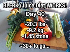 I've been on a veggie/fruit juice diet for 40 days. Mostly to make up for when I was living large (no pun intended) in Guatemala. So far... down more than 20 lbs. Just 54 days or 30 lbs to go! Feel great! #juicediet #juicing (Doug Murray (borderfilms)) Tags: ive been veggiefruit juice diet for 40 days mostly make up when i was living large no pun intended guatemala so far down more than 20 lbs just 54 or 30 go feel great juicediet juicing