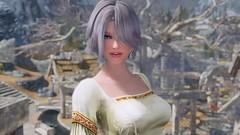 Elder Scrolls V  Skyrim Screenshot 2019.04.21 - 20.53.32.71 (SasakiPajero) Tags: screenshot skyrim scrolls snapdragonprimeenb shorthair smile tes tesv enb eyes portrait elder girl face
