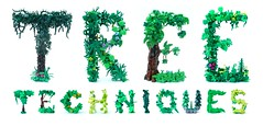 Tree Techniques (Emil Lidé) Tags: lego moc tree techniques alphabet