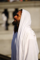 Passion Of Jesus play in Trafalgar Square on Good Friday - 128 (D.Ski) Tags: jesus passionofjesus play trafalgarsquare openair nikon nikond700 200500mm london england wintershall goodfriday easter