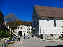Solothurn Soleure 20. April 2019 (Barfüssergasse, Franziskanerkriche) (Martinus VI) Tags: solothurn solothurner kanton de canton ville stadt y190420 martinus6 martinus6xy martinus vi aare ambassadorenstadt schweiz suisse switzerland svizzera suiza