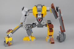 Dog_OSM_LEGO_21303_10 (oeuf_en_gelee) Tags: lego moc osm alternate robot halflife dog videogame valve