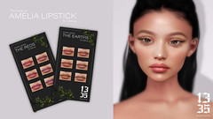 1335 x Genus - Amelia Lipstick! @ Cosmetic Fair (Thirteen Thirtyfive (busy in rl)) Tags: secondlife sl genus genusapplier applier genusproject project 1335 thirteenthirtyfive tt5 hot now new lipstick cosmeticfair thereds theearths