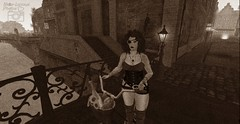 Days Gone By... (MrsSeren Resident) Tags: secondlife secondlifefashion steampunk vintage vintagefashion steampunkfashion