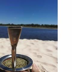 · Arroyo Pando · (marianarozasm) Tags: uruguay canelones verano playa arroyo summer beach travel trip viajar mate