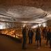 Rotunda room inside Mammoth Cave
